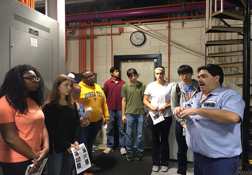 Campus Plant Tour